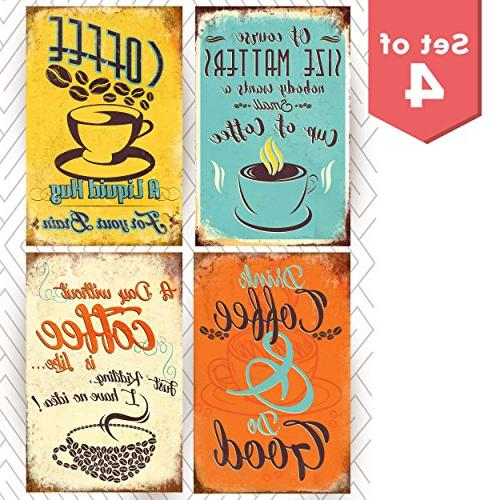coffee shop posters wall decor
