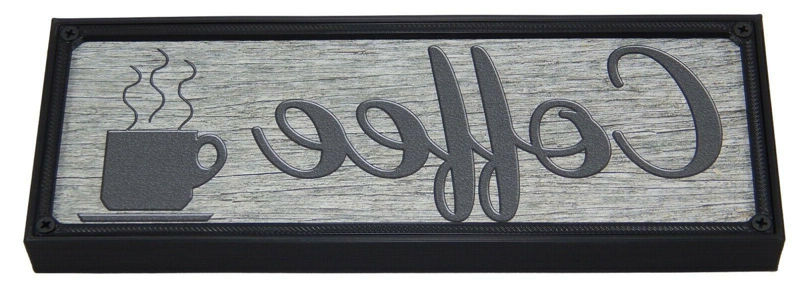 Coffee Kitchen Home Wall Hanging Typography