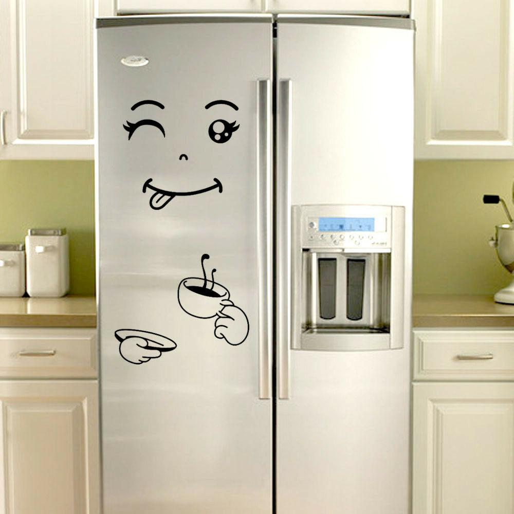 Cute Happy Delicious Fridge Wall
