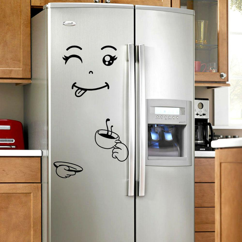 Cute Sticker Fridge Delicious Fridge Wall Stickers Home