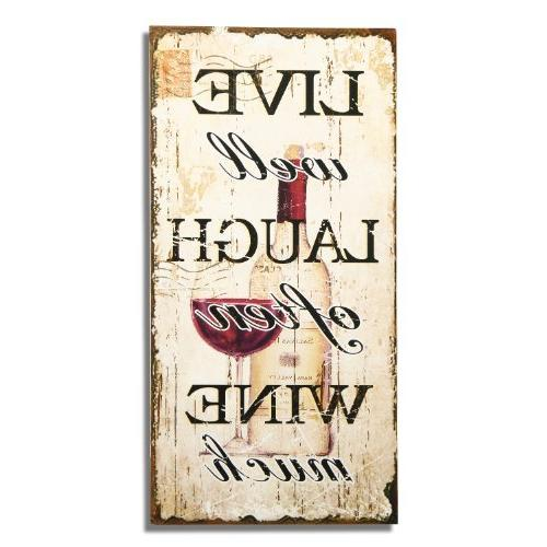 decorative wood wall hanging sign