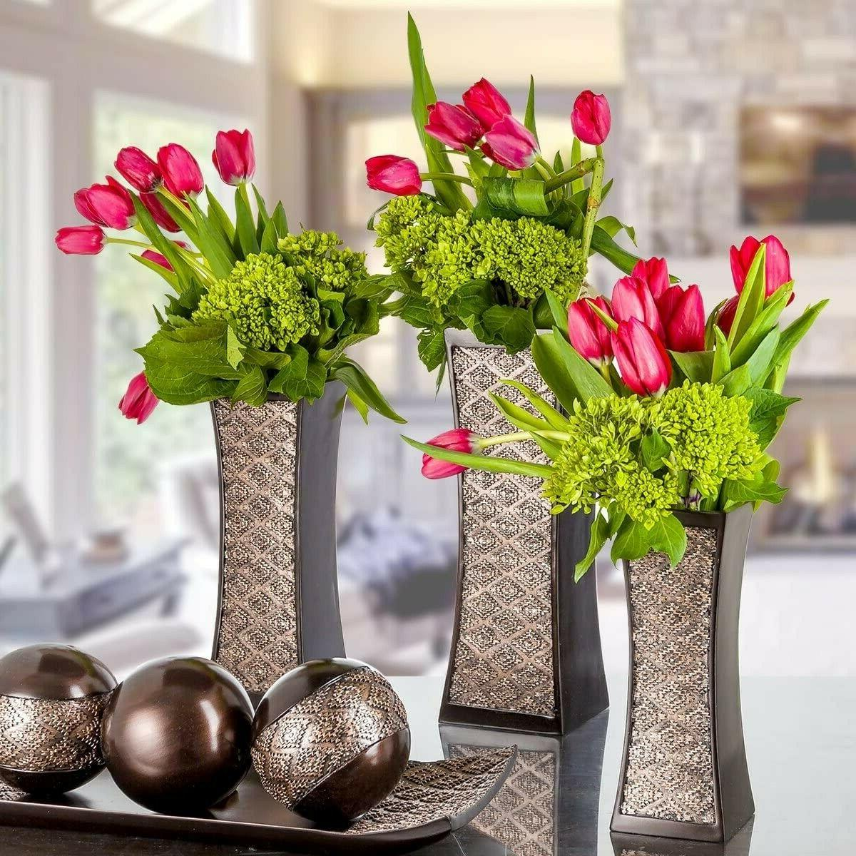 Durable Flower Vase For Kitchen Dining Table