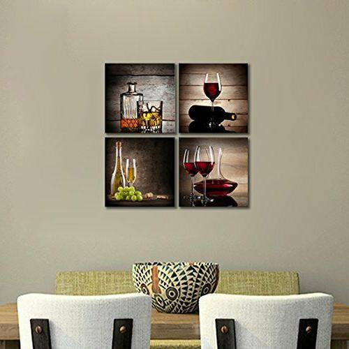 FRAMED Glass Canvas Art Kitchen Decor Home Picture