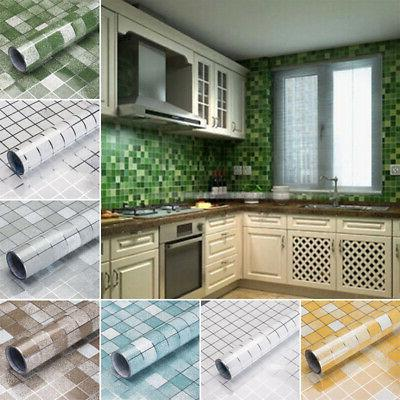 Home Anti-Oil Tile Wall Sticker Room Removable