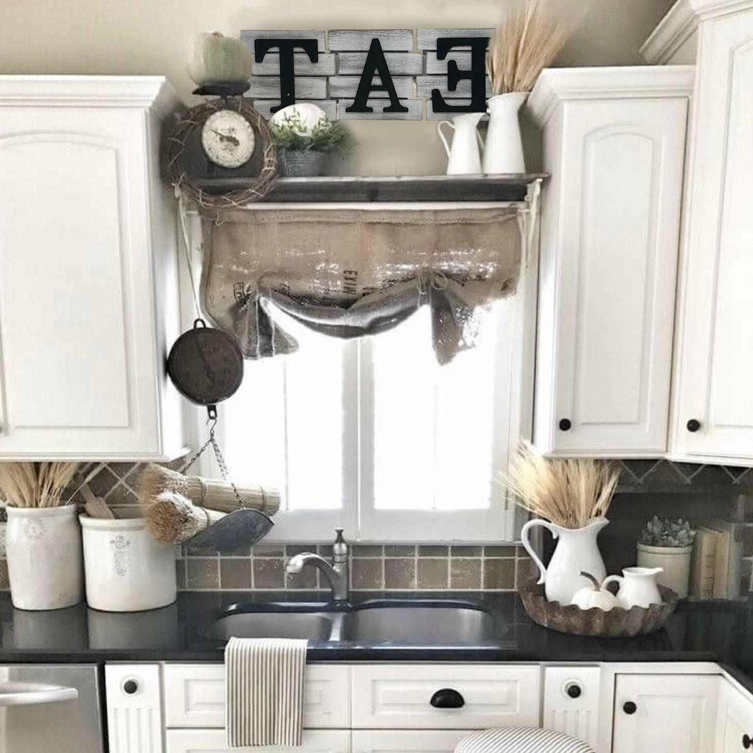 Home Kitchen Country Rustic Farmhouse EAT