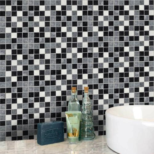 Kitchen Bathroom Tile Mosaic Stickers Wall