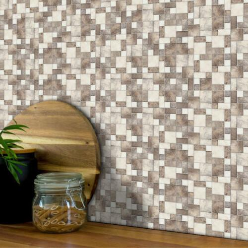 Kitchen Tile Mosaic Stickers Self-adhesive Wall