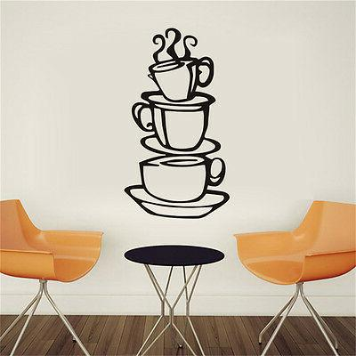 Kitchen.Coffee House Removable Art Vinyl