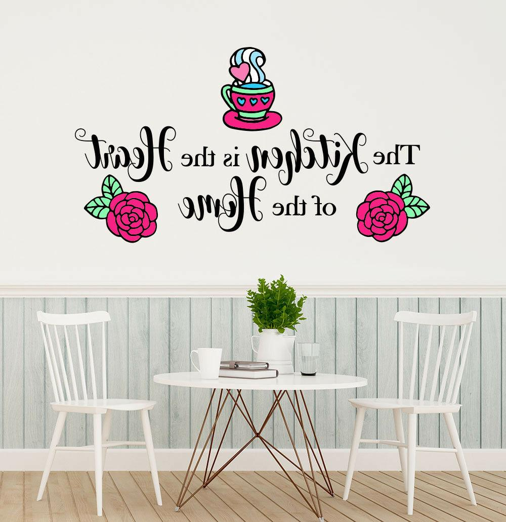 Kitchen Full Color Mural. Kitchen Wall Quotes. Kitchen Wall