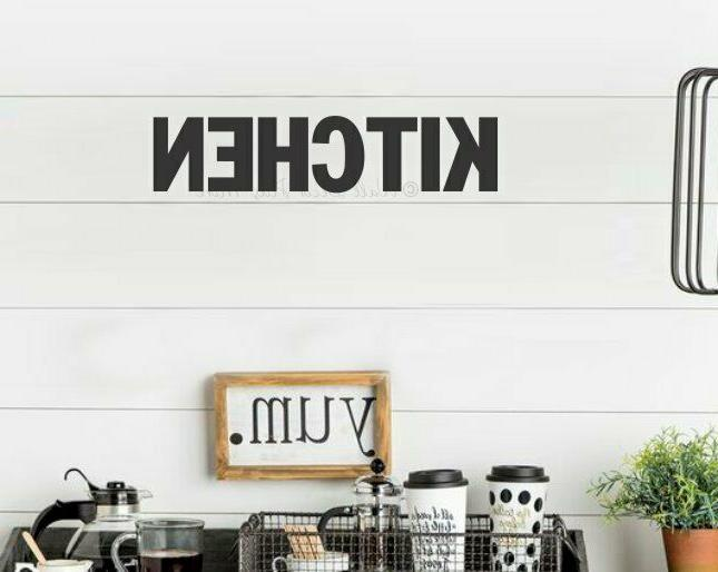Kitchen Simple Art Block Home Quote