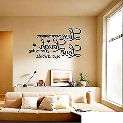 love quote wall sticker decal