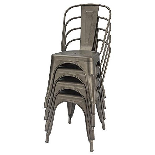 Furmax Indoor-Outdoor Use Classic Trattoria Chic Bistro Chairs