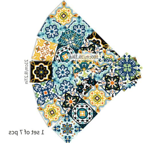 Morocco Tile Stickers Bathroom Mosaic Home Decor