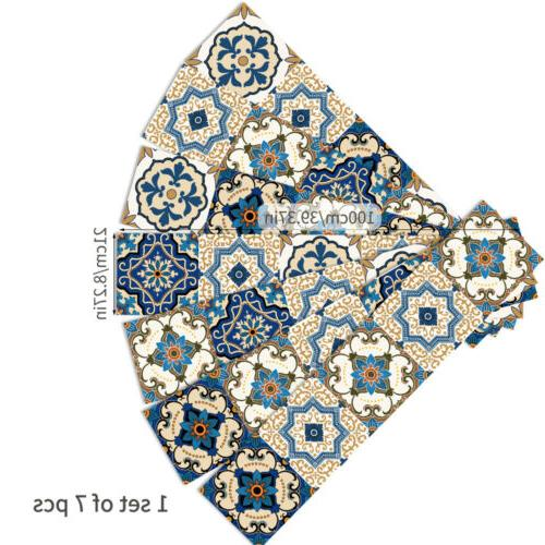 Morocco Stickers Kitchen Bathroom Mosaic Home Wall