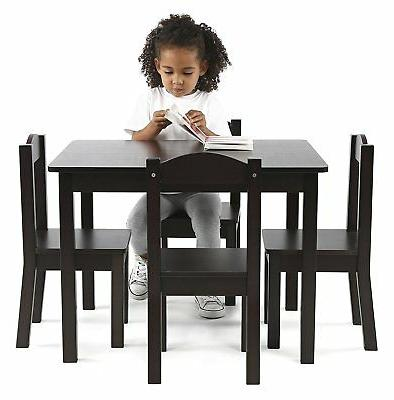 New Wood play desk Chairs Espresso