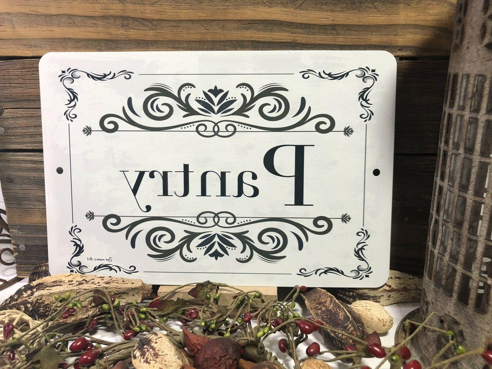 Pantry - Kitchen - 12x8 - Decorative Sign