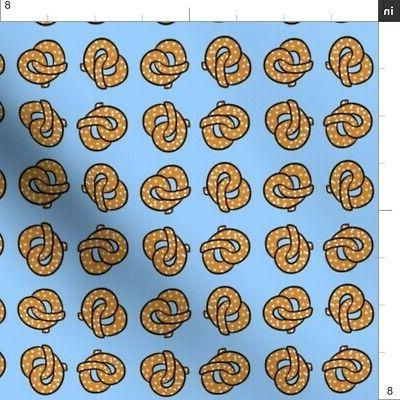 Pretzel Abstract Kitchen Decor Carnival by