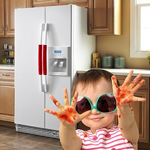 OUGAR8 Door Covers,Keep Appliance Clean Smudges, Fingertips, Drips, Perfect For Dishwashers