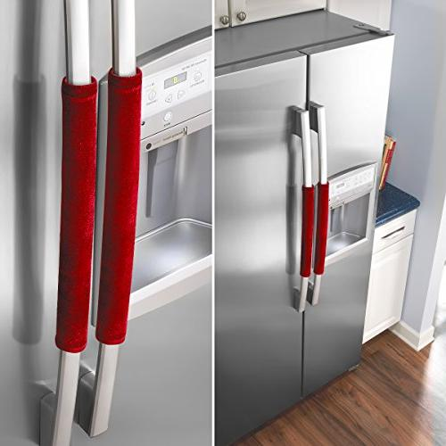 OUGAR8 Refrigerator Door Covers,Keep Your Appliance Clean From Drips, Food For Dishwashers