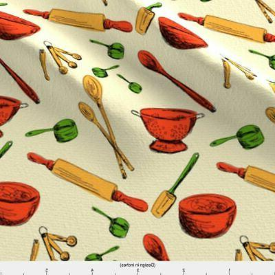 Retro Gadgets Gadget Fabric Printed by