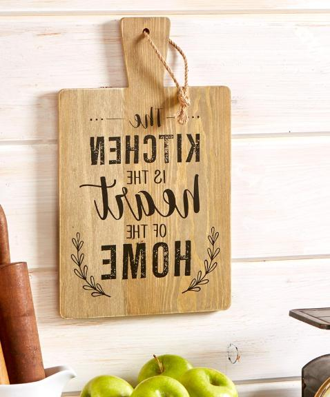 Rustic Kitchen Decor Cutting Wall Art Country