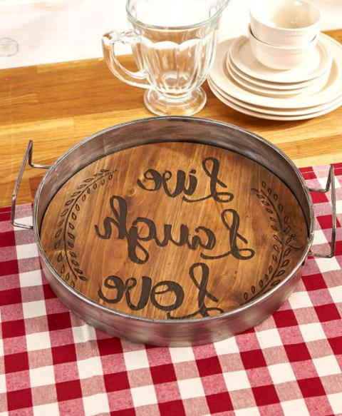 Rustic Wall Tray Country Plaque Gifts