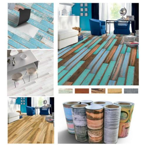 Self Adhesive Art Floor Wall DIY Vinyl Sticker Kitchen Bathr