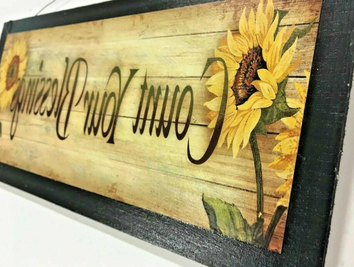 sunflowers your country kitchen wall decor fall