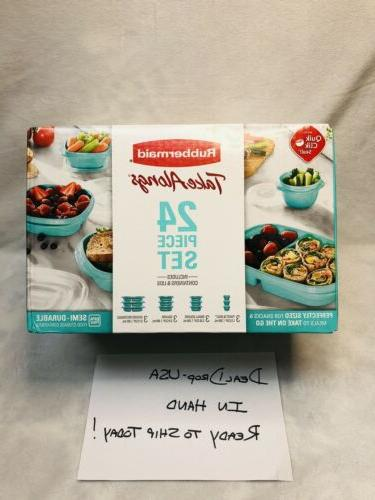 Rubbermaid Take Storage piece Teal - - NEW
