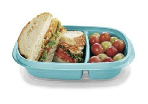 Rubbermaid Storage Containers 24 piece Teal - Meal - NEW