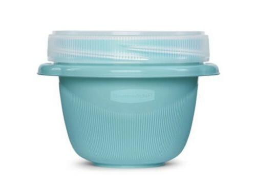Rubbermaid Alongs Food Teal Meal Prep - NEW