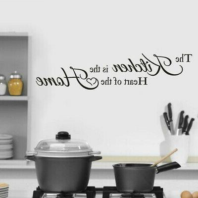 the kitchen home decoration wall sticker decal