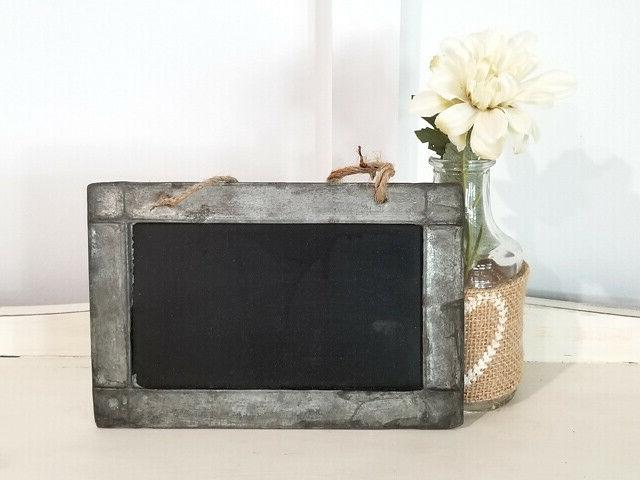 Tin Framed Chalkboards of Party