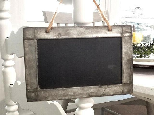 Tin Framed of 6 Kitchen Tablescape Modern