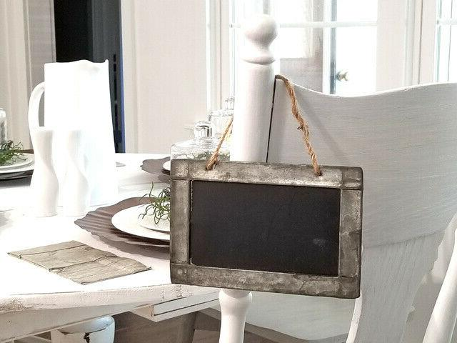Tin Framed Chalkboards of Party Kitchen