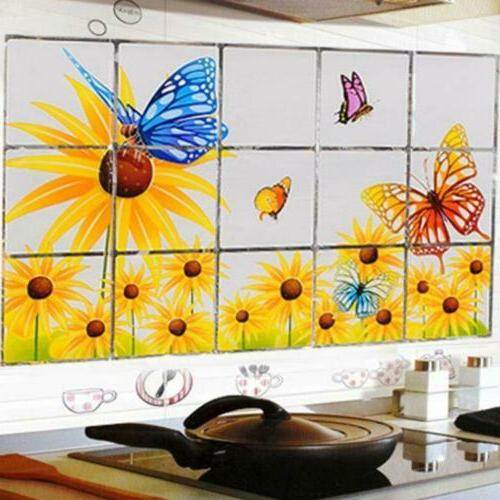 Wall Kitchen Anti Oil Self Mosaic Waterproof Sticker