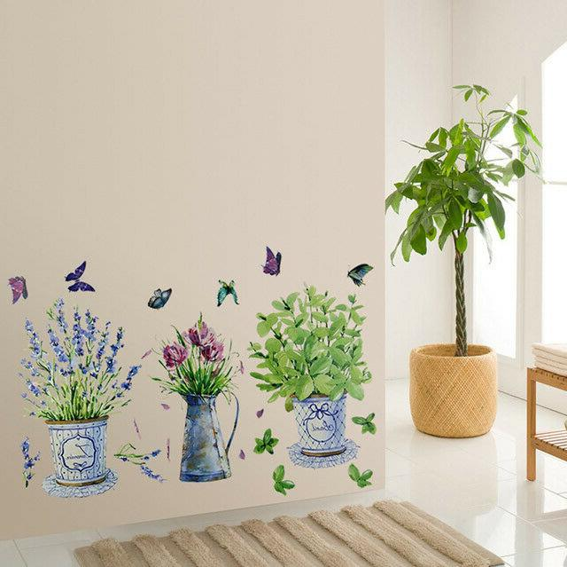 Wall Stickers Potted Kitchen