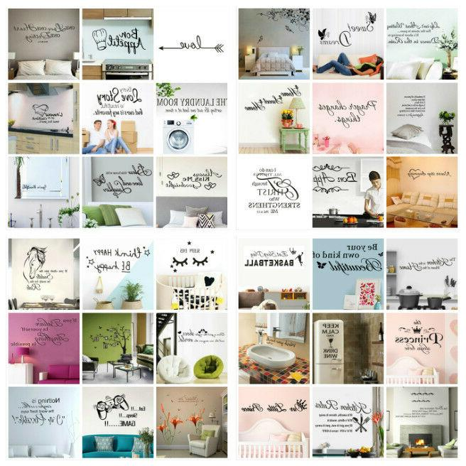 Wall Stickers PVC Wall Decal Mural Decoration