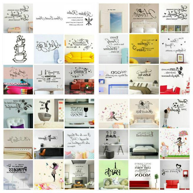 wall stickers removable art pvc diy wall