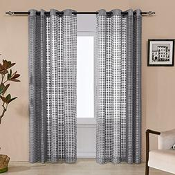 Fassbel Lace String curtains Wall Panels Polyester Fabric Ro