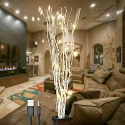 LIGHTSHARE 36Inch 16LED Natural Willow Twig Lighted Branch f