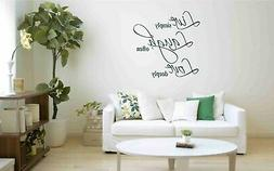 Live Laugh Love Wall Decal Sticker Home Decor DIY Vinyl Art