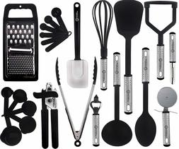 Lux Decor Cooking Utensils Set – 23 Pieces – Nylon Kitch