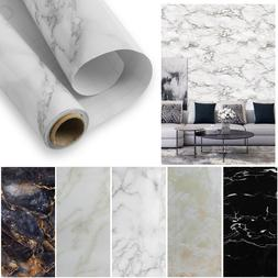 Marble Wall Stickers Self Adhesive Kitchen Waterproof Wallpa