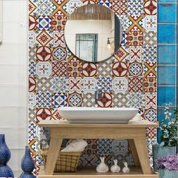 Morocco Tile Stickers Kitchen Bathroom Mosaic Sticker Waterp