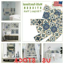 morocco tile stickers kitchen bathroom mosaic sticker