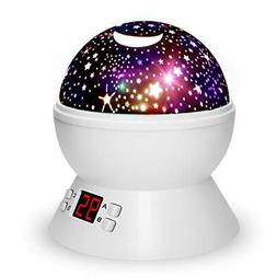 Night Lights for Kids with Timer, Star Projector for Kids an