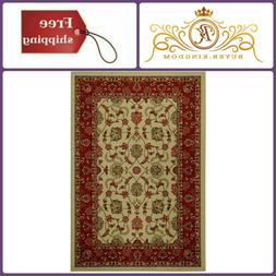 Nursery Home Decor Ivory Traditional Kitchen Rugs Rubber Bac