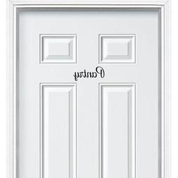 Pantry Vinyl Decal Sticker for Kitchen Pantry Room Wall Door