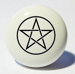 pentagram home decor ceramic kitchen knob drawer